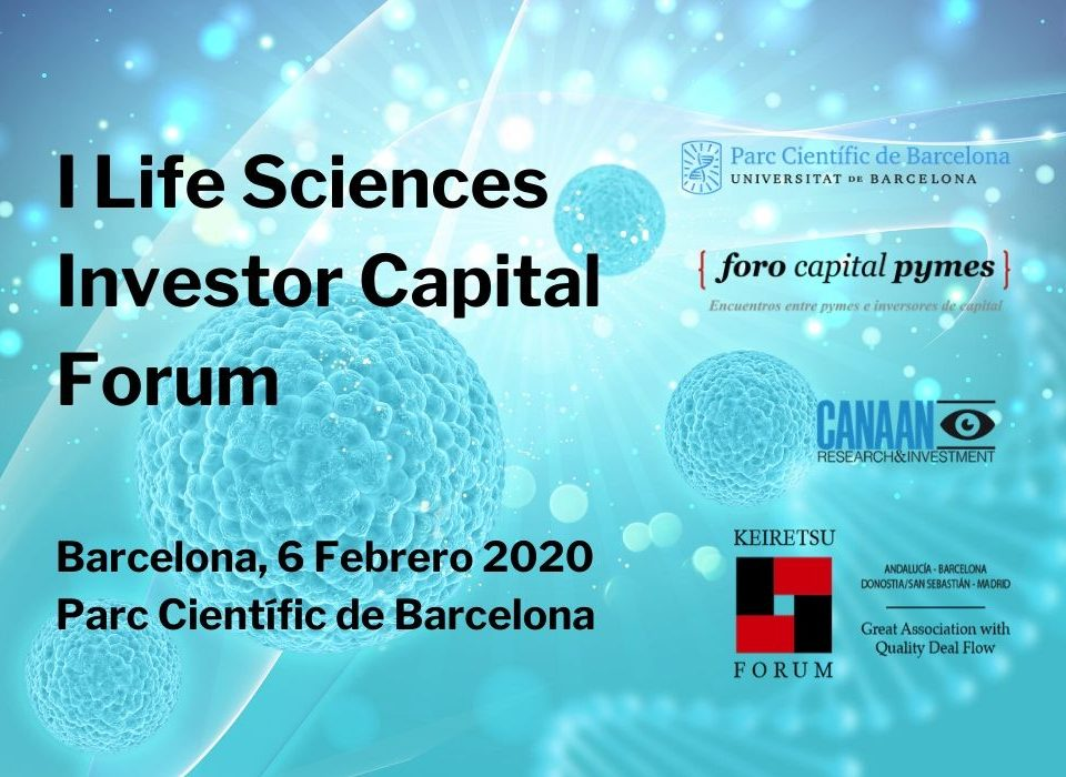 I Life Sciences Investor Capital Forum Barcelona 6 Febrero 2020